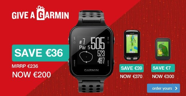 Give A Garmin - Special Offer from €200