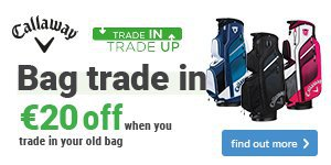 Get €20 off a new Callaway bag