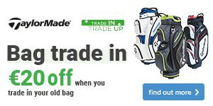 Get €20 off a new TaylorMade bag