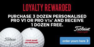 Titleist Loyalty Rewarded - Save €55